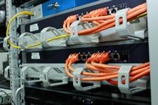Verkabelung im Netzwerkschrank