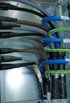 Niederspannungshauptversorgung mit Energiebändern